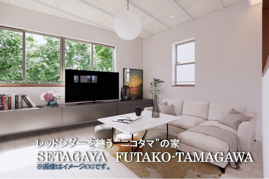 世田谷区鎌田(二子玉川)アイキャッチCG
