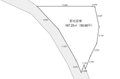 横浜市戸塚区前田町 区画図